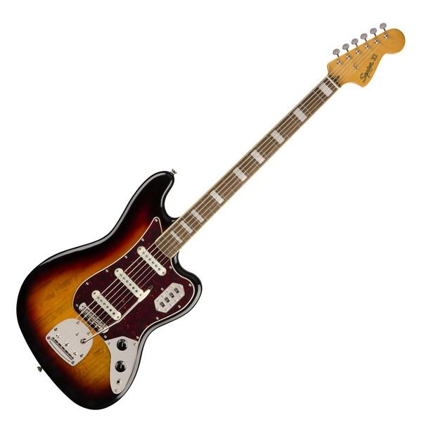 Squier Classic Vibe Bass VI LRL, 3-Tone Sunburst