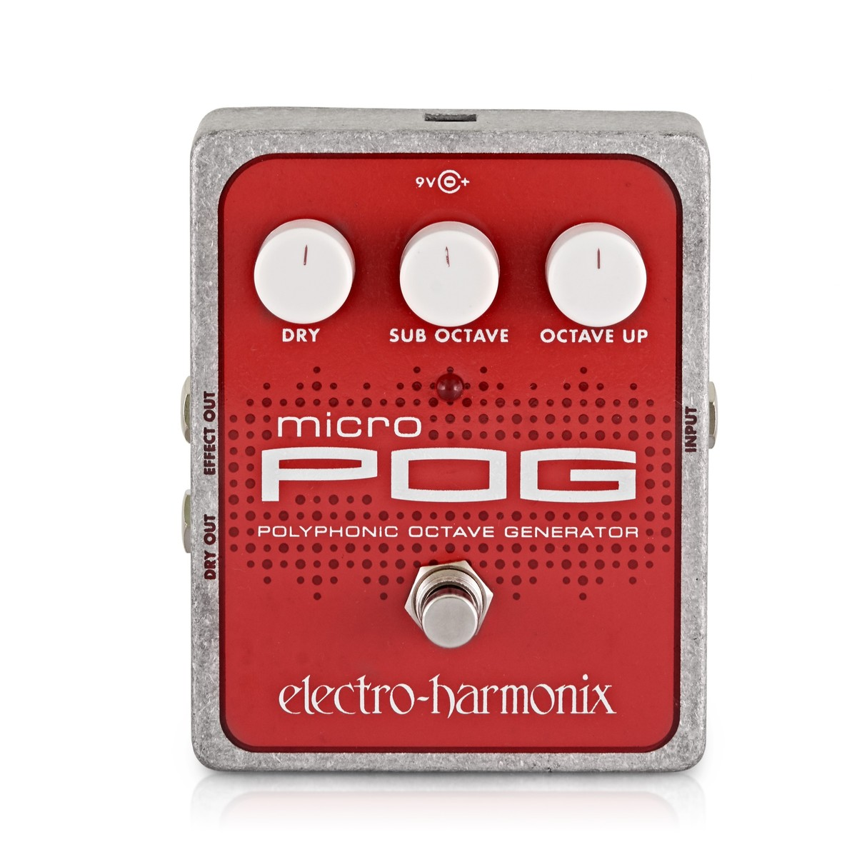 Click to view product details and reviews for Electro Harmonix Micro Pog Polyphonic Octave Generator.