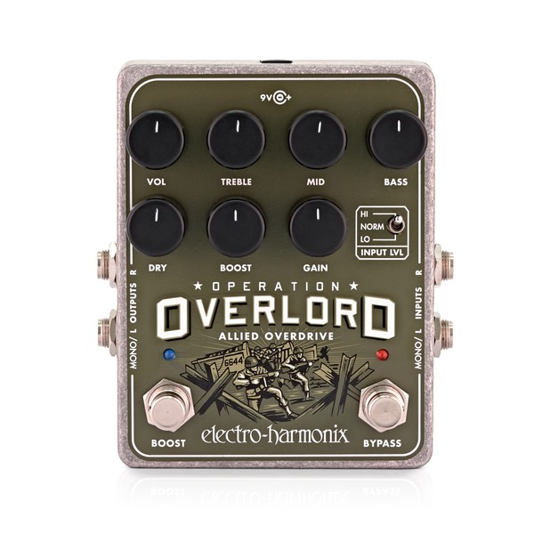Electro Harmonix Operation Overlord Allied Overdrive main