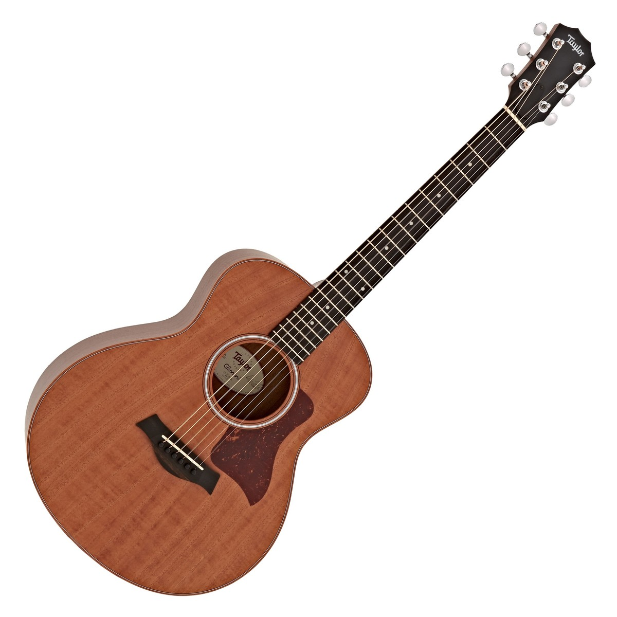 taylor gs mini mahogany acoustic guitar box opened at gear4music. Black Bedroom Furniture Sets. Home Design Ideas
