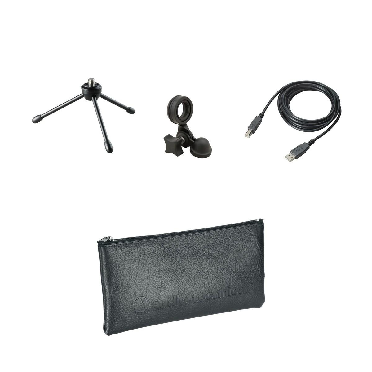 Audio Technica AT2020USB Pluss Kondensatormikrofon med