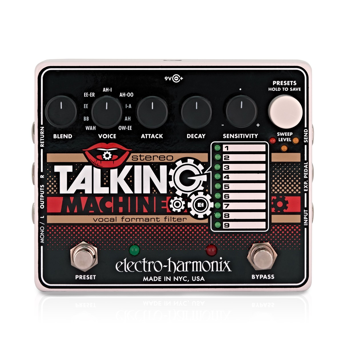Click to view product details and reviews for Electro Harmonix Stereo Talking Machine Vocal Formant Filter.
