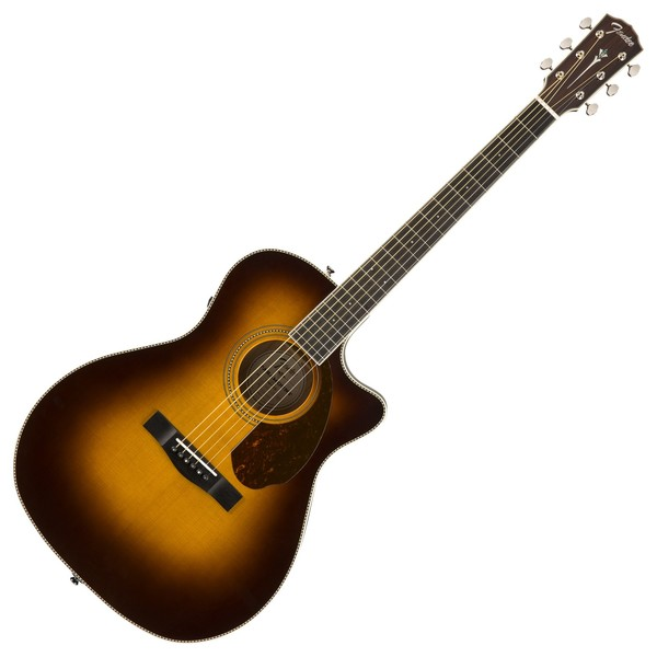 Fender Paramount PM-4CE LTD Auditorium Electro Acoustic, Sunburst