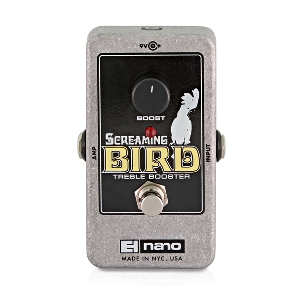 Electro Harmonix Screaming Bird Treble Booster main