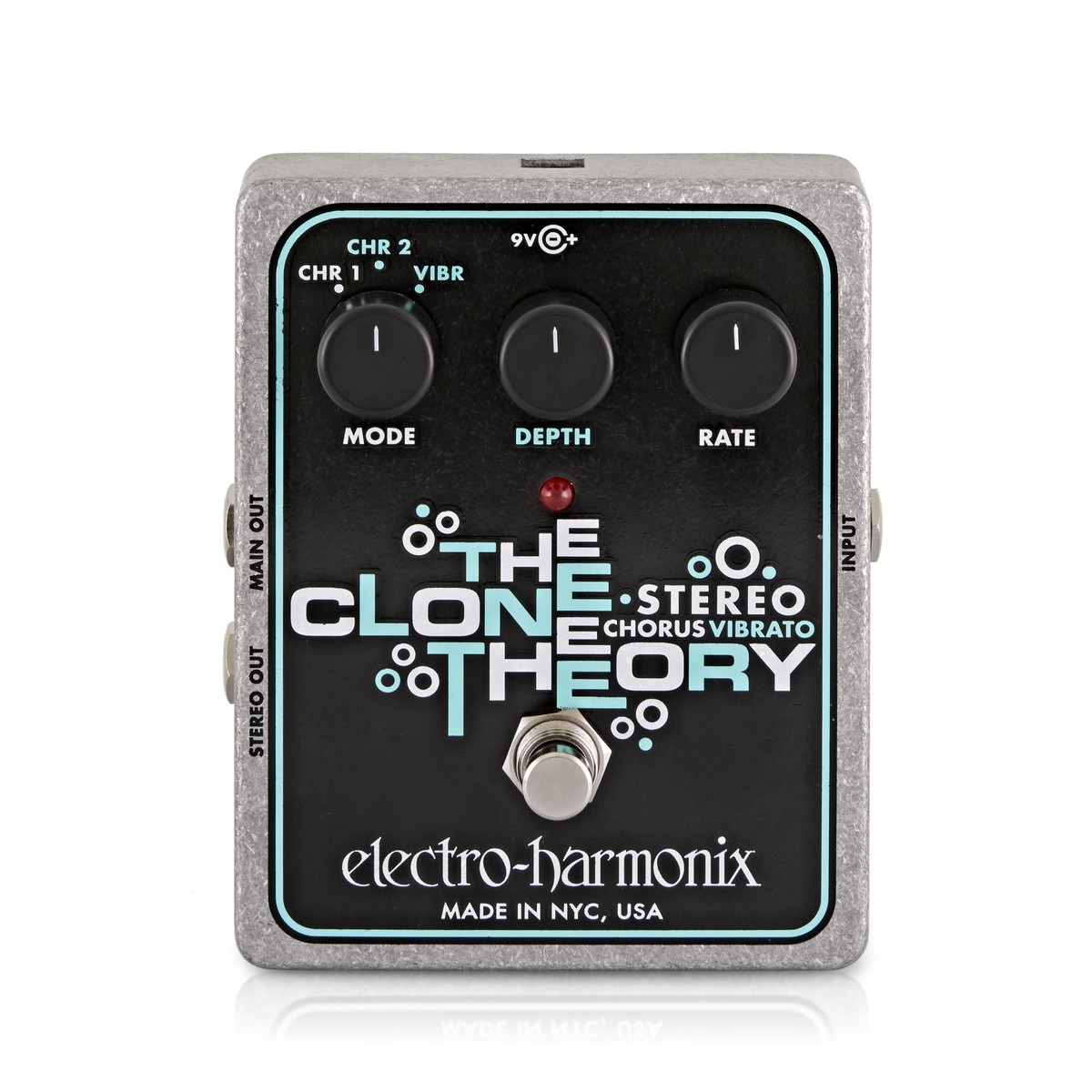 Click to view product details and reviews for Electro Harmonix Stereo Clone Theory Analog Chorus.