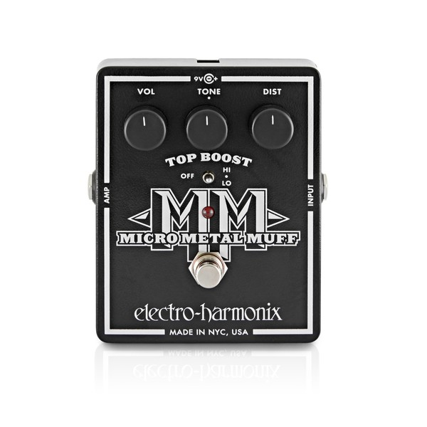 Electro Harmonix Micro Metal Muff Distortion main