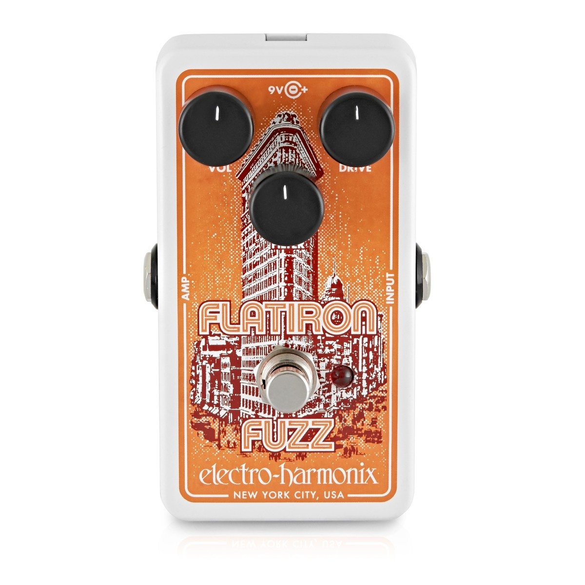 Click to view product details and reviews for Electro Harmonix Flatiron Fuzz.