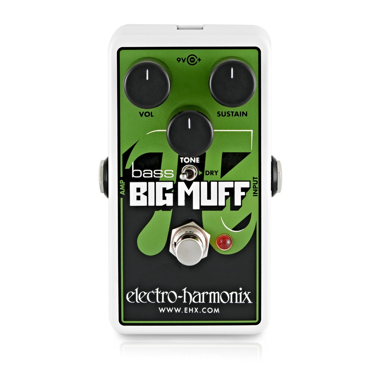 Click to view product details and reviews for Electro Harmonix Nano Bass Big Muff Pi Distortion Sustainer.