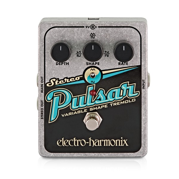 Electro Harmonix Stereo Pulsar Variable Shape Analog Tremolo main