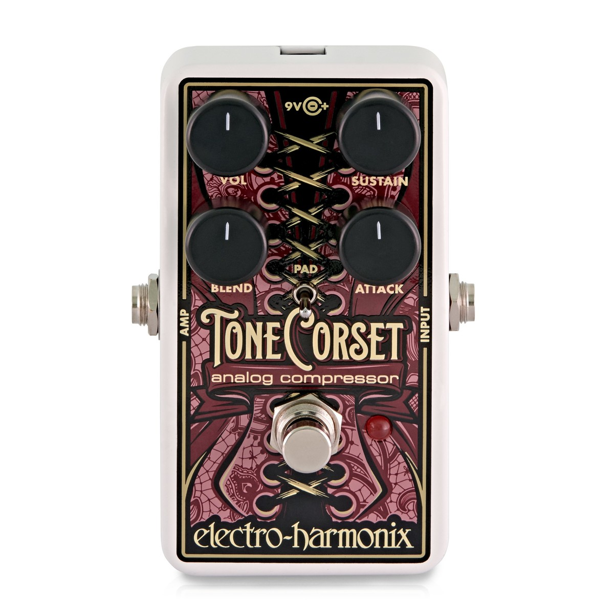 Click to view product details and reviews for Electro Harmonix Tone Corset Analog Compressor.