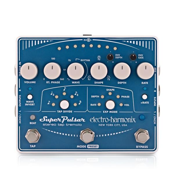 Electro Harmonix Super Pulsar Stereo Tap Tremolo main