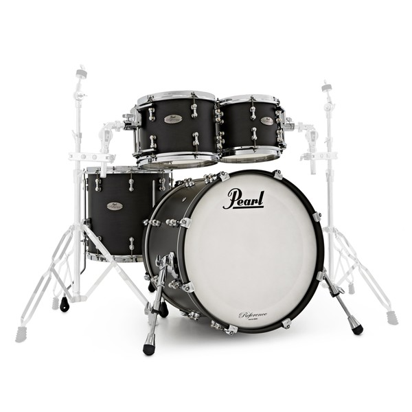 Pearl Reference Pure 20'' Fusion 4pc Shell Pack, Matte Black