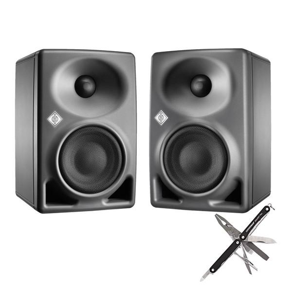 Neumann KH 80 DSP Studio Monitors with Neumann Multi-Tool - Full Bundle