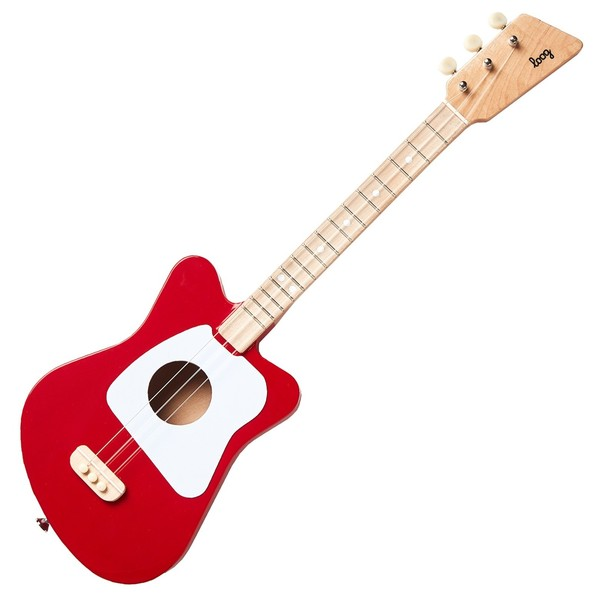 Loog Mini Red - Front View