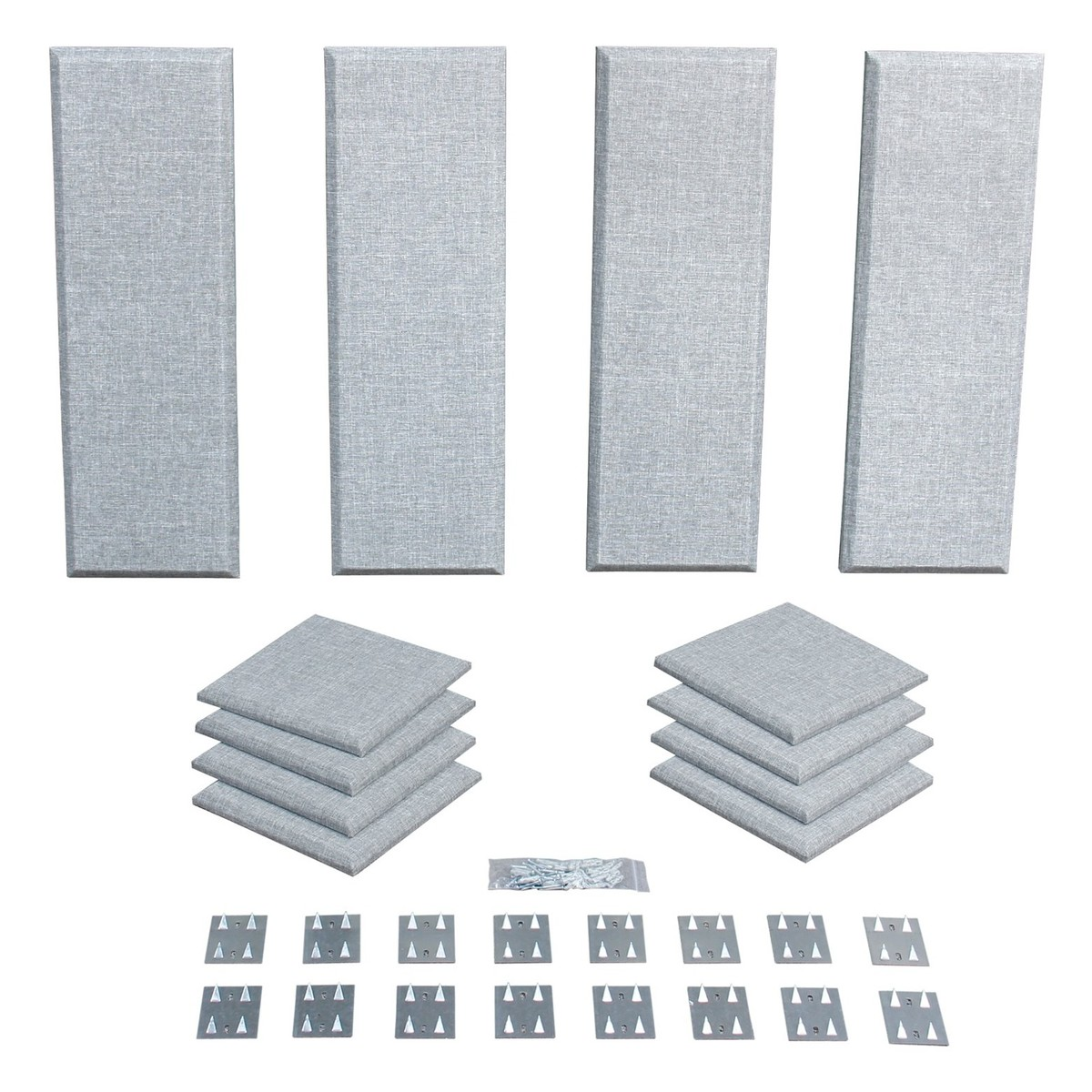 Click to view product details and reviews for Primacoustic London 8 Room Kit In Grey.