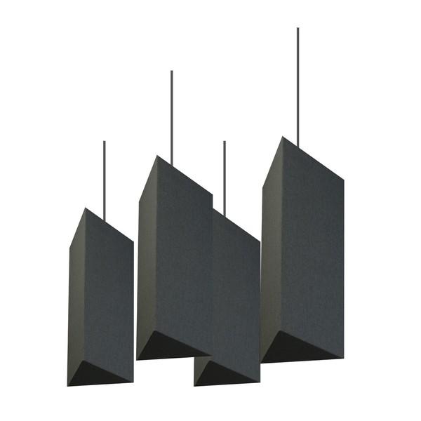 Primacoustic Tiki Lantern Baffle, Black (Pack of 4)