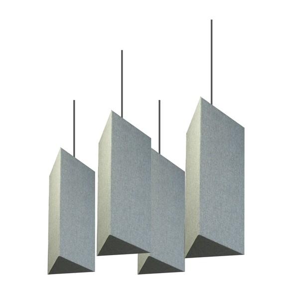 Primacoustic Tiki Lantern Baffle, Grey (Pack of 4)