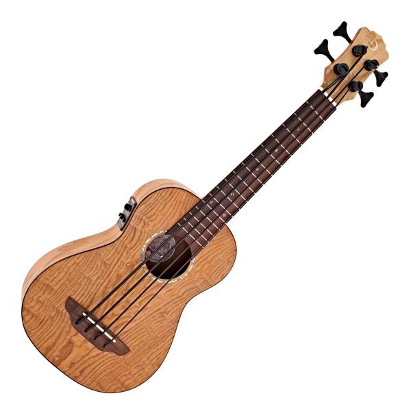 Luna Bari-Bass Ukulele w/ Preamp, Quilt Top main