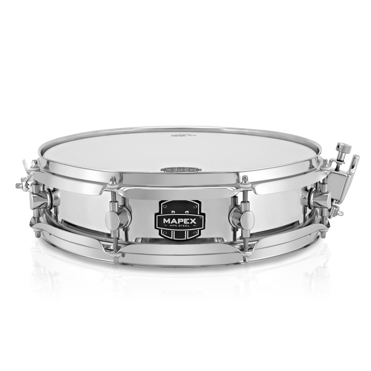 mapex mpx 13 x steel snare drum at gear4music. Black Bedroom Furniture Sets. Home Design Ideas
