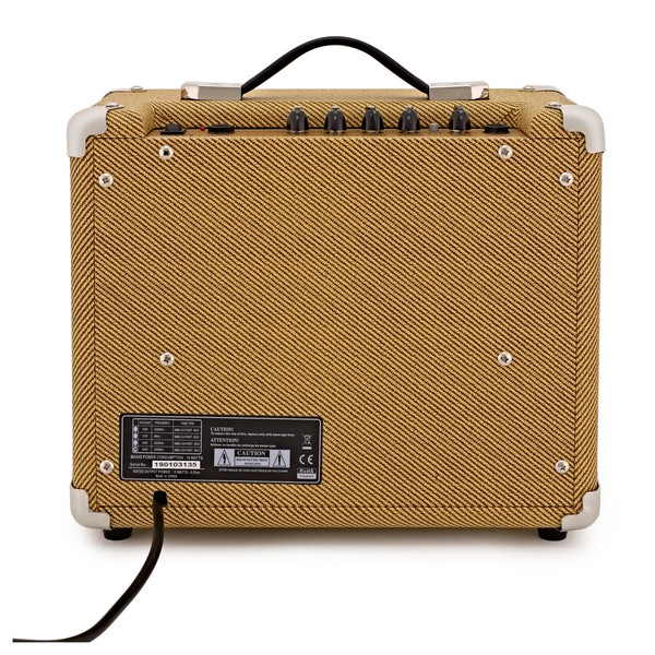 subzero tweed v15g guitar amp at gear4music. Black Bedroom Furniture Sets. Home Design Ideas