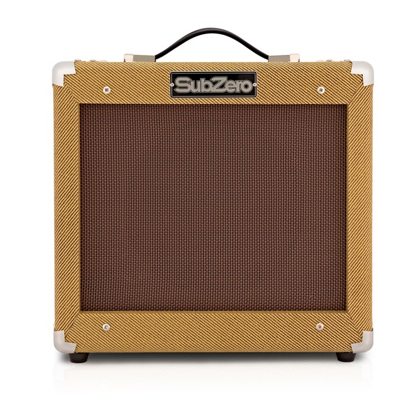 SubZero Tweed V35RG Guitar Amp main