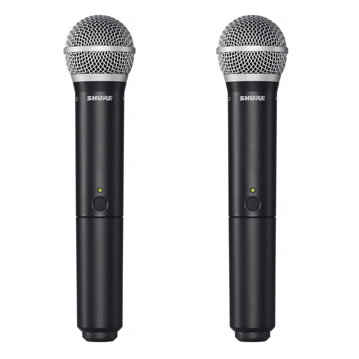 shure blx288e pg58 dual handheld wireless microphone system m17 band at gear4music. Black Bedroom Furniture Sets. Home Design Ideas