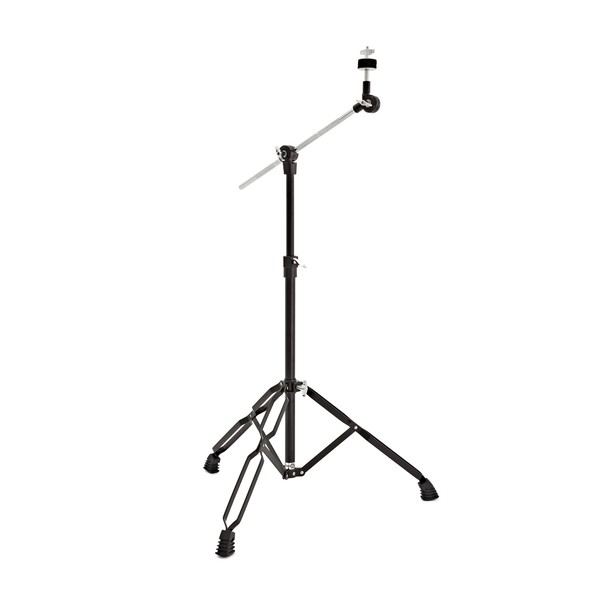 Boom Arm Cymbal Stand by Gear4music, Black