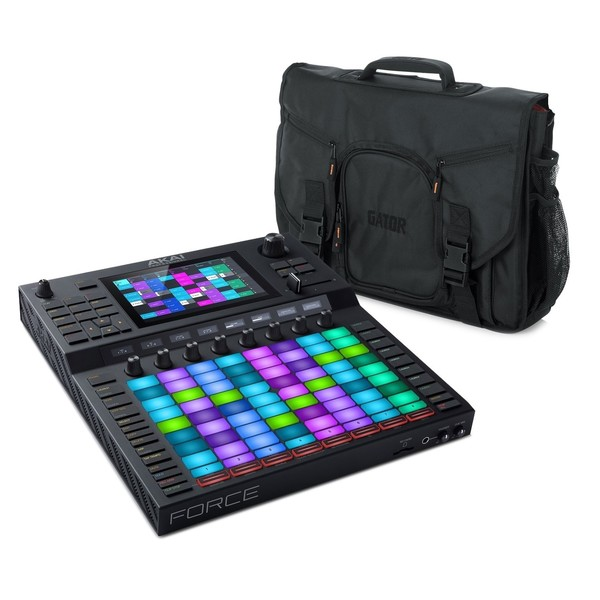 Akai Force Standalone Production System and Carry Case - Full Bundle
