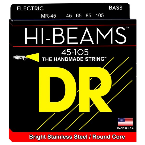 DR Strings HiBeam Bass Strings Medium, 45-105 - Main