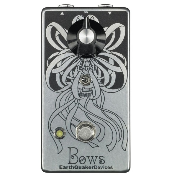 EarthQuaker Devices Bows Germanium Booster Top Panel