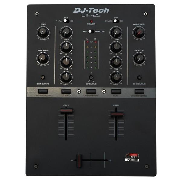 DIF-2S DJ Mixer - Top