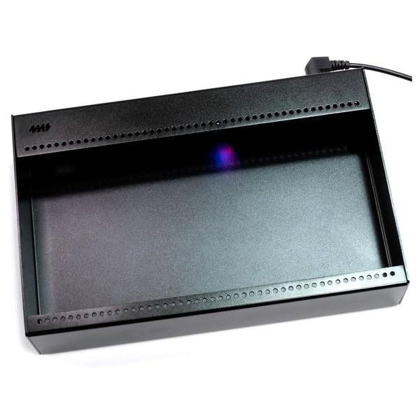 4ms Pod48x Portable Eurorack Enclosure, 48HP (Powered) - Angled