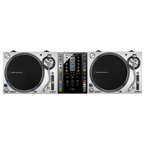 Audio Technica AT-LP140XP Silver and Native Instruments Z2 Bundle