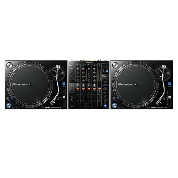 Pioneer PLX-1000 and DJM-750 MK2 Bundle - Full Bundle