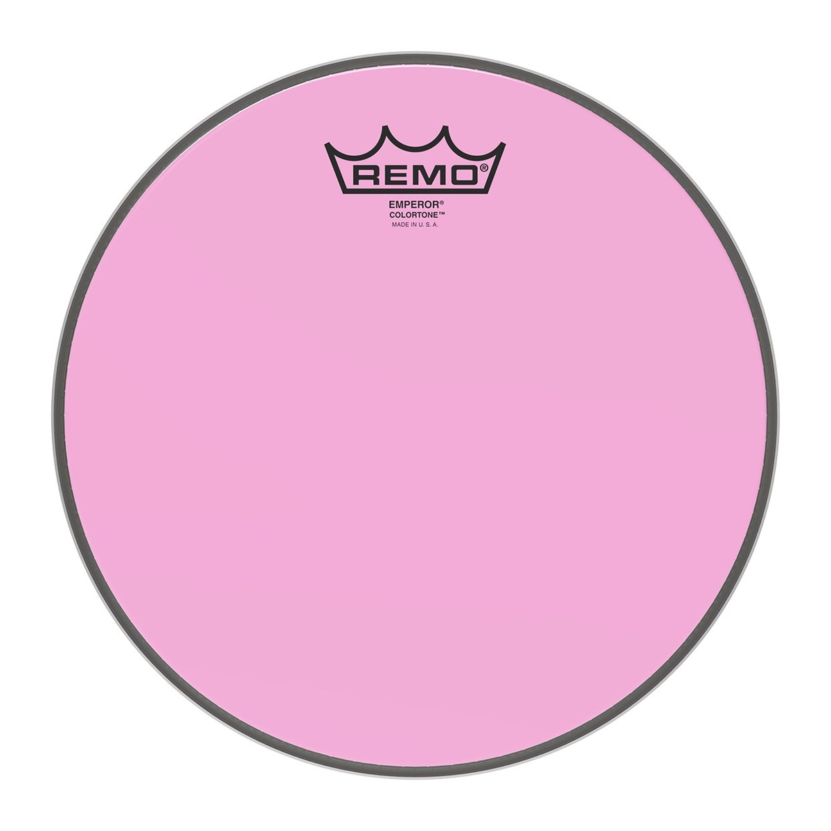 Click to view product details and reviews for Remo Emperor Colortone Pink 10 Drum Head.