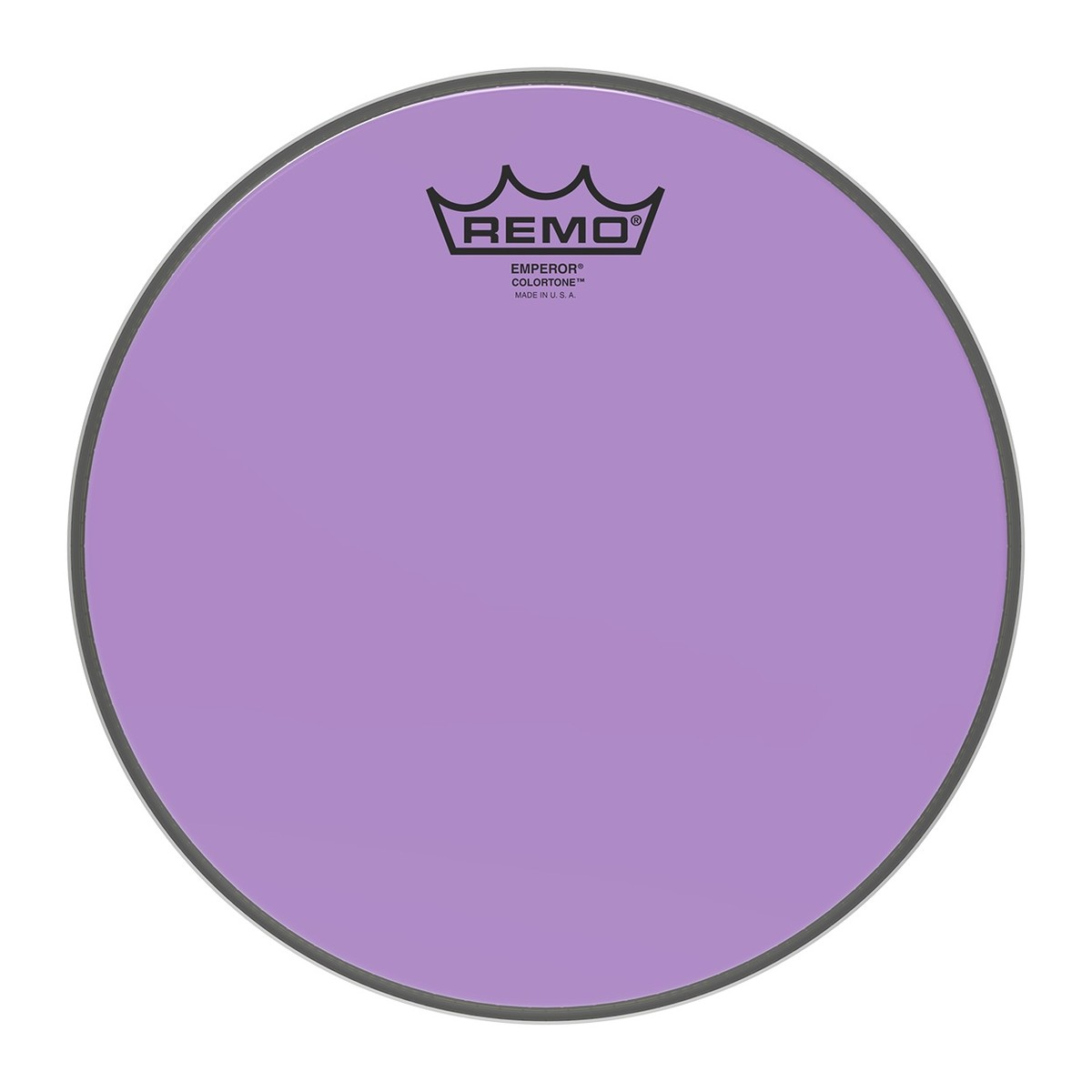 Click to view product details and reviews for Remo Emperor Colortone Purple 10 Drum Head.