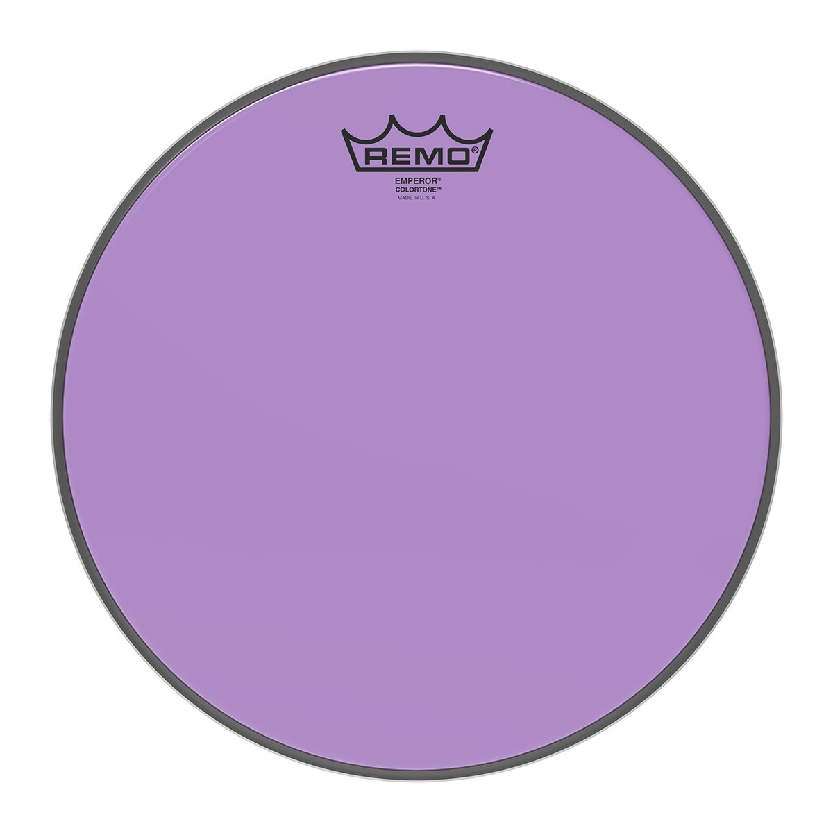 Click to view product details and reviews for Remo Emperor Colortone Purple 12 Drum Head.