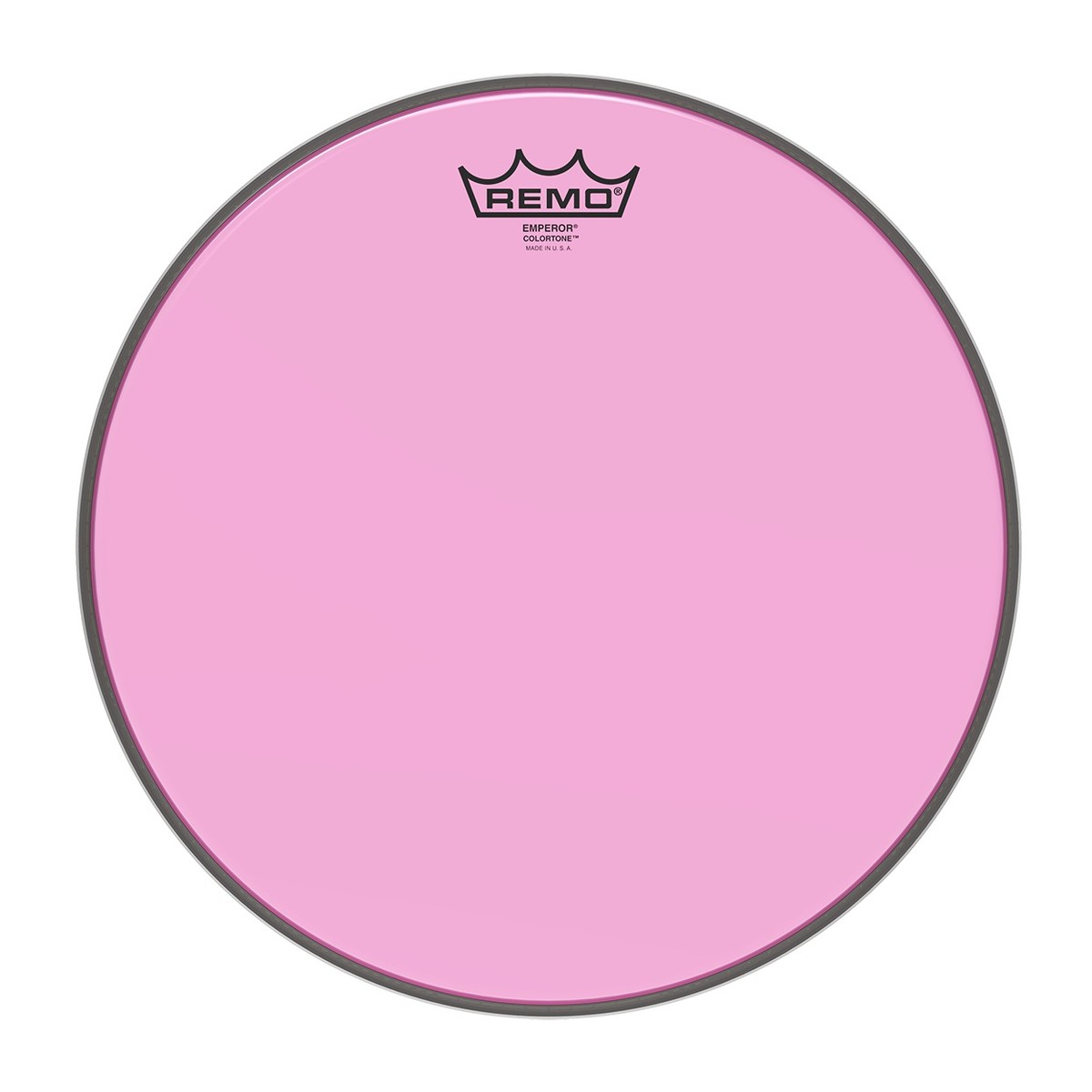 Click to view product details and reviews for Remo Emperor Colortone Pink 13 Drum Head.