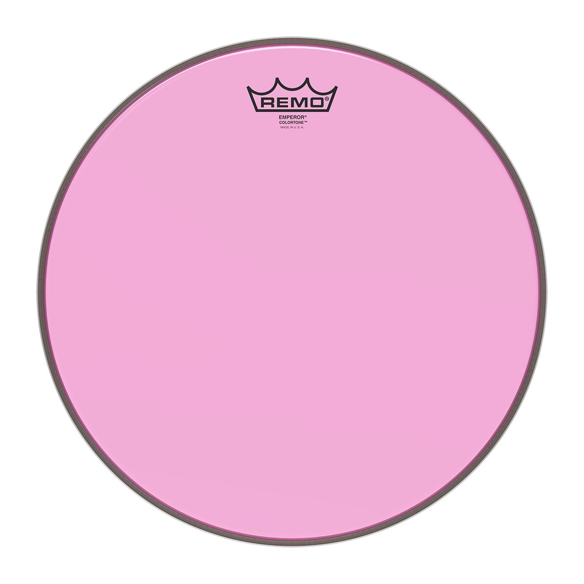 Click to view product details and reviews for Remo Emperor Colortone Pink 14 Drum Head.