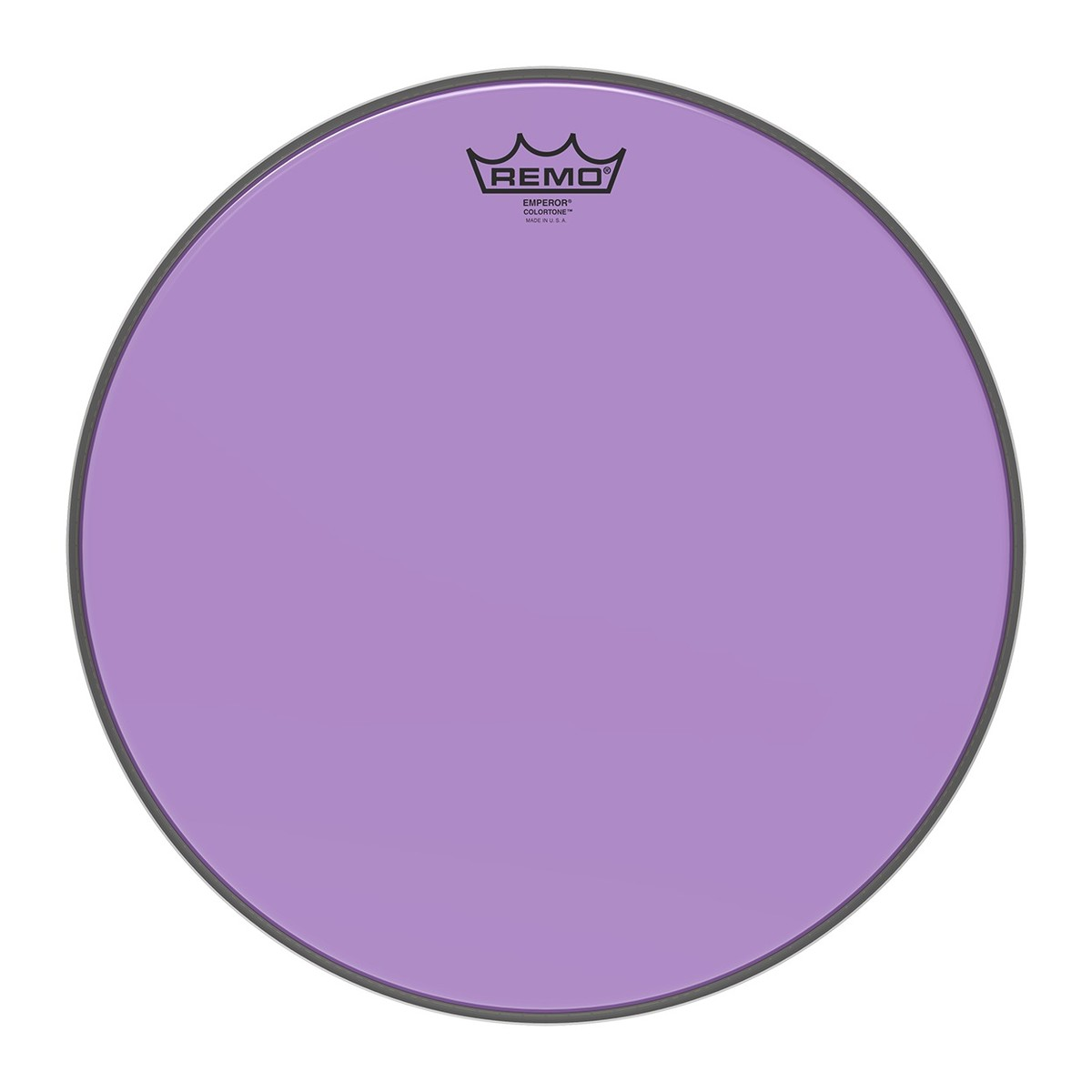 Remo Emperor Colortone 15 Purple Drum Head