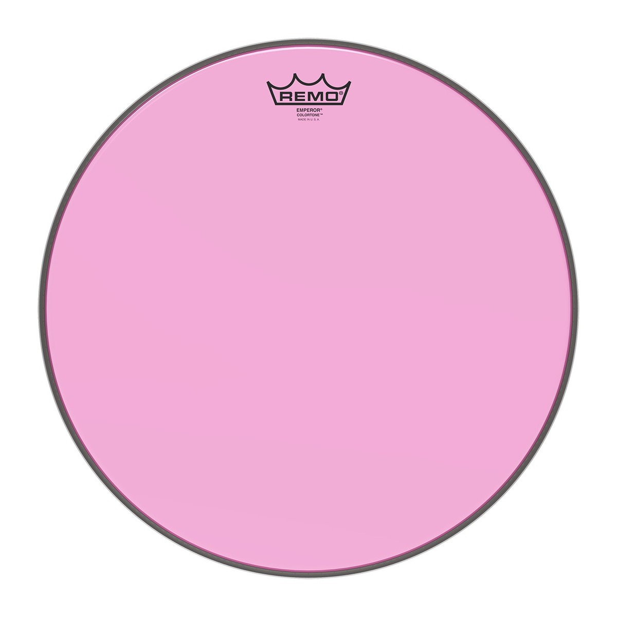 Click to view product details and reviews for Remo Emperor Colortone 16 Pink Drum Head.