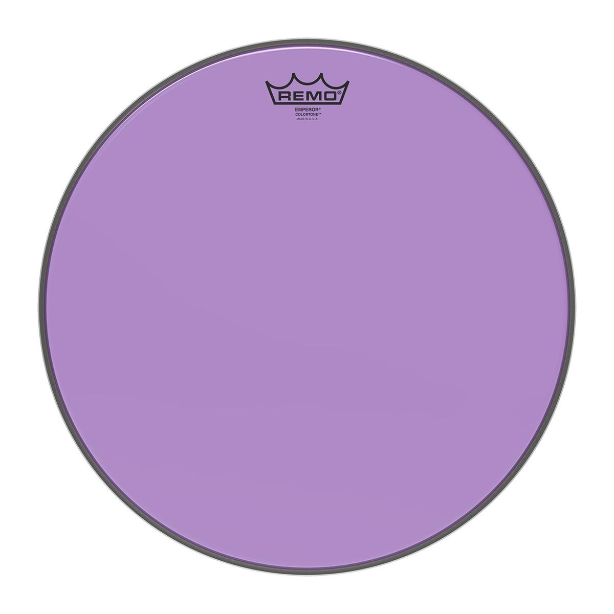 Remo Emperor Colortone Purple 16 Drum Head