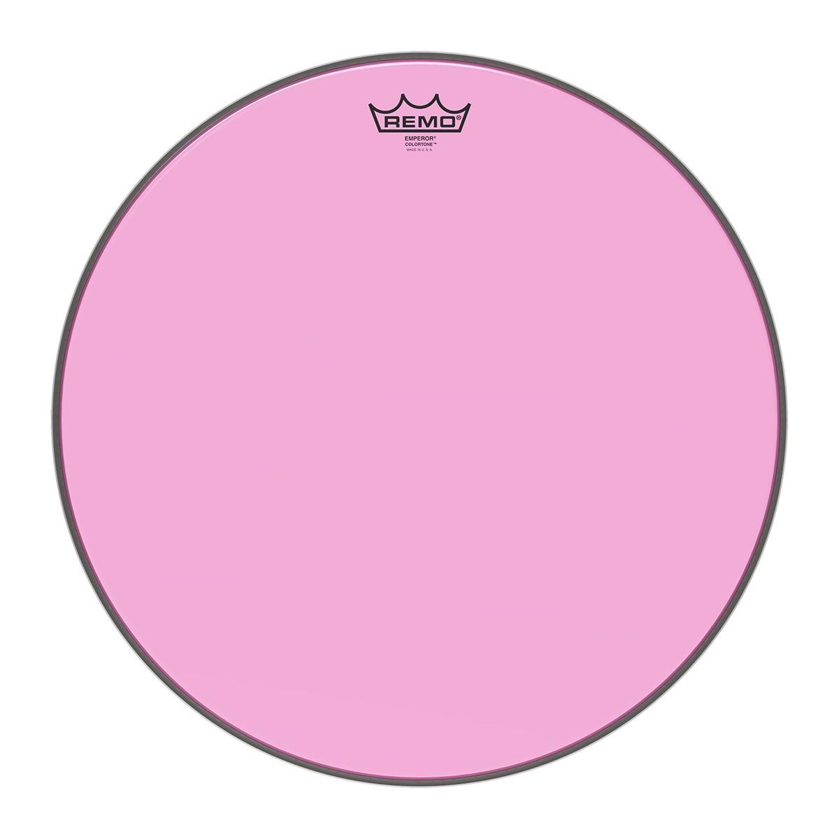 Remo Emperor Colortone Pink 18 Drum Head
