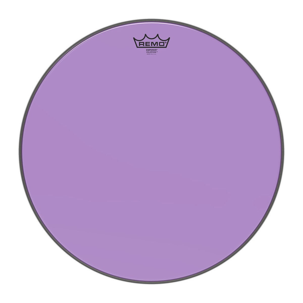 Remo Emperor Colortone Purple 18 Drum Head