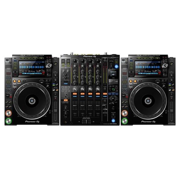 Pioneer CDJ-2000NXS2 and DJM-900NXS2 Bundle - Full Bundle