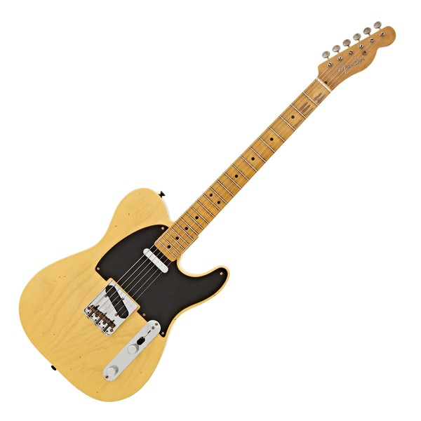 Fender Custom Shop 1951 Journeyman Relic Nocaster Faded Blonde #R1876 main