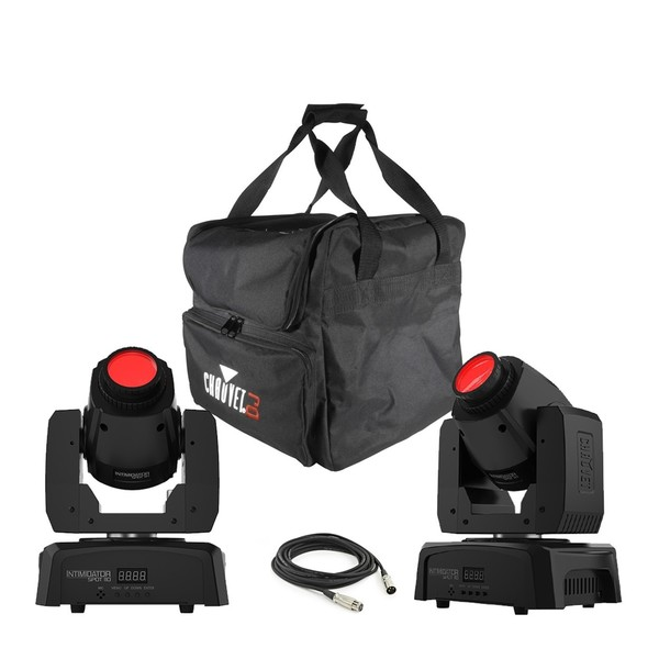 Chauvet Intimidator Spot 110 Pair with Bag and Cable