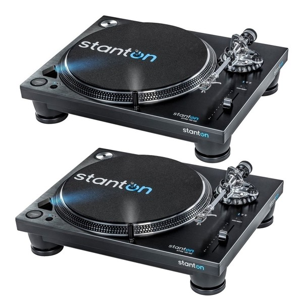 Stanton STR8.150 MK2 Direct Drive Turntables, Pair -