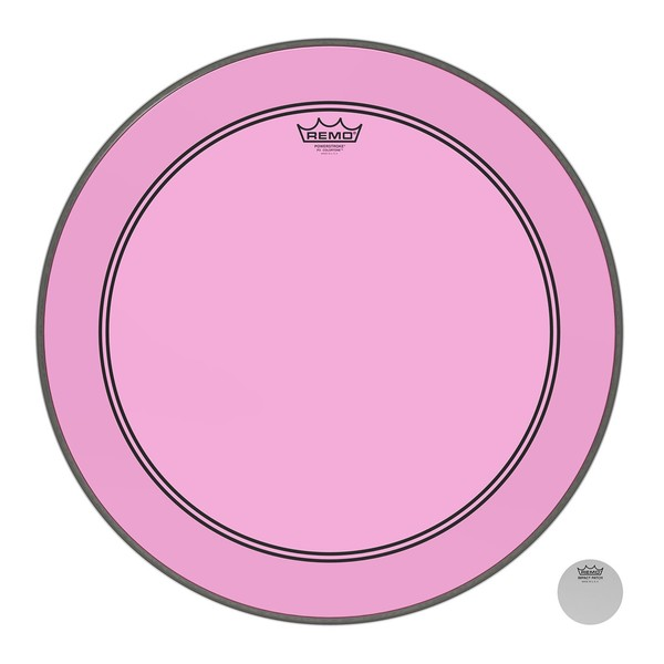 Remo Powerstroke 3 Colortone Pink 22'' Bass Drum Head