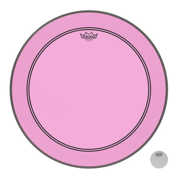 Remo Powerstroke 3 Colortone Pink 22'' Bass Drum Head